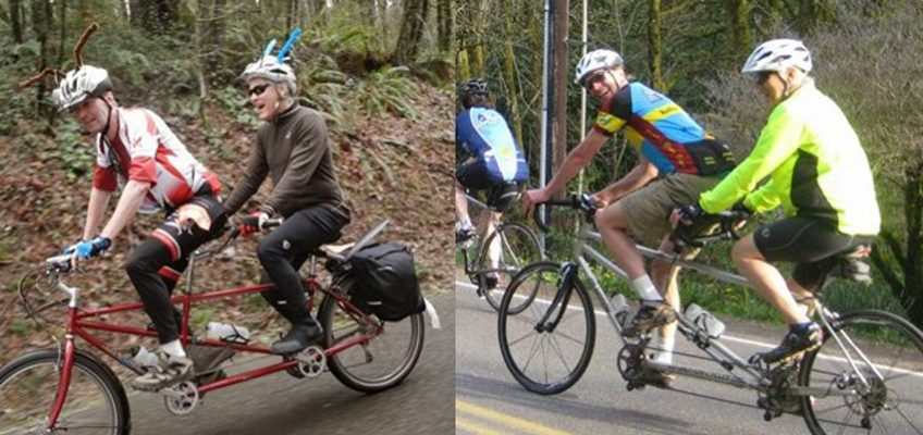 Legal & Cycling In Tandem