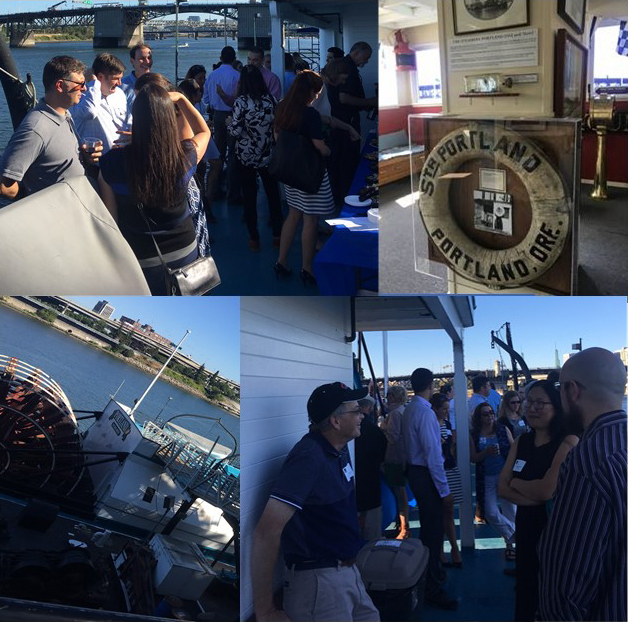 OSB IP Section's Happy Hour Aboard The Sternwheeler Portland